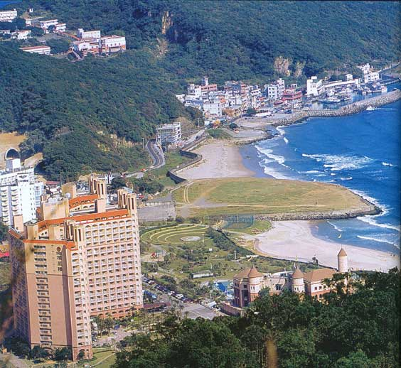 Chinese city on the coast