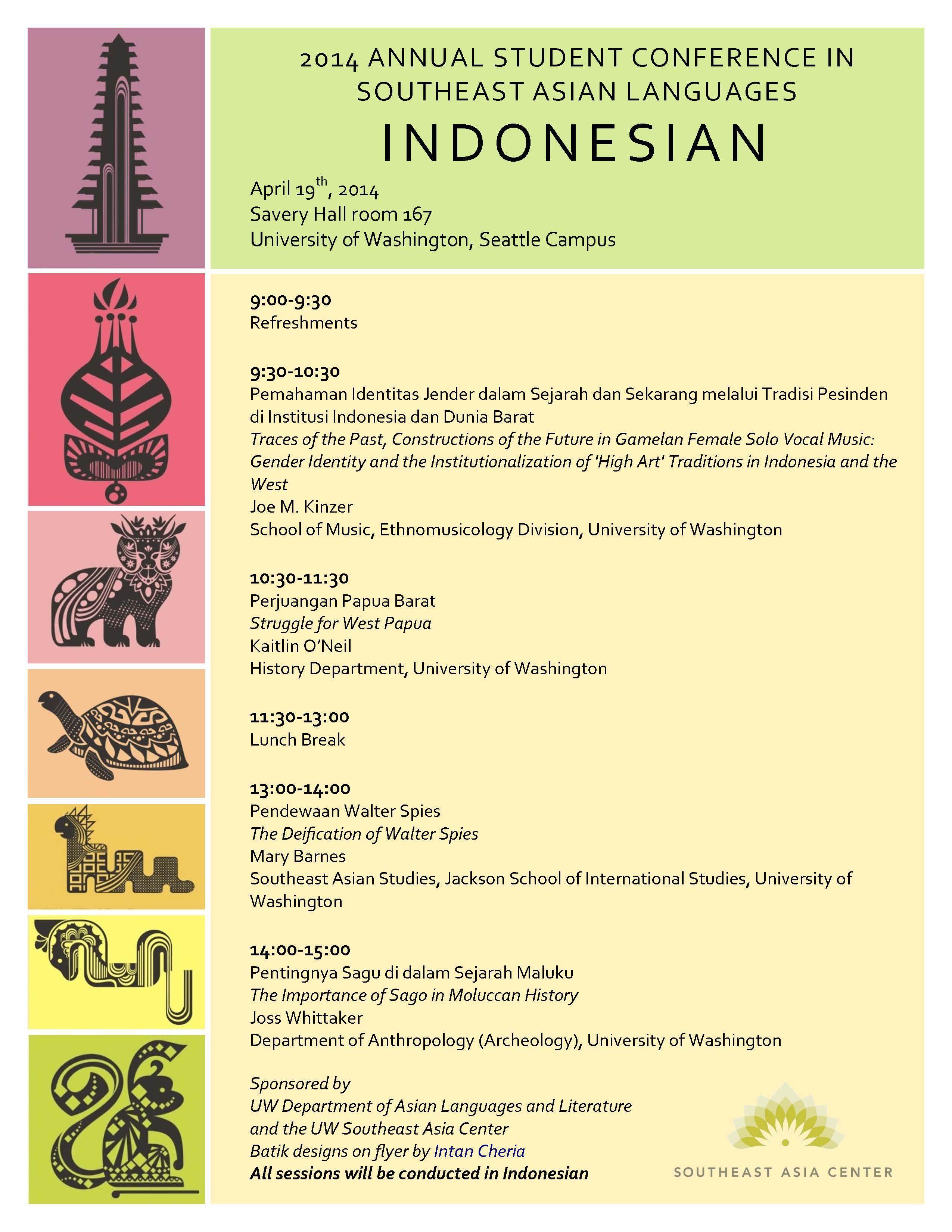 Southeast Asian Languages Southeast Asian Languages