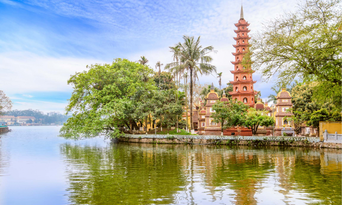 Pagoda of Pho Chieu temple