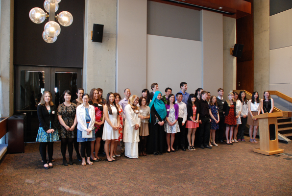 Bachelor of Arts Degree Recipients