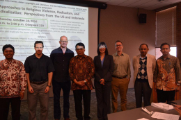 "Presenters at ""Approaches to religious violence, radicalization, and deradicalization: Perspectives from US and Indonesia"""