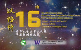 The 16th Chinese Bridge Chinese Proficiency Competition