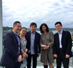 Hirokazu Koreeda visited the University of Washington in May