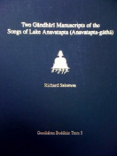 Two Gandhari Manuscripts book cover