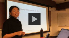 "YouTube link to ""Language and literacy learning through dual language immersion"" by Dr. Chan Lu"